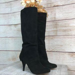 Fergalicious Prime Tall Black Boots